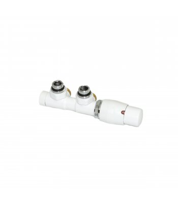 Angled Ximax White Deluxe central Valve