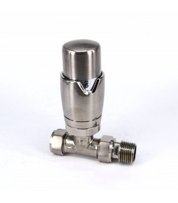 Straight Nickel Deluxe valve set