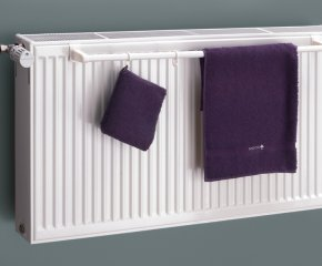 Towel Rail For Double Panel Radiator