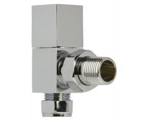 Square Chrome Valve set